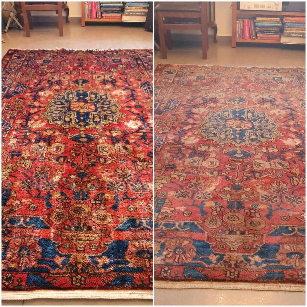 ניקוי שטיחים מקצועי - בומבה ניקיון